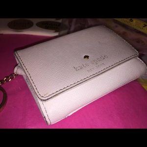Kate Spade's Key Ring Flap Snap Wallet;